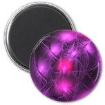 Crystal gazing (purple) magnets