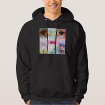 Crystal Geometric Shapes Mens Hoodie