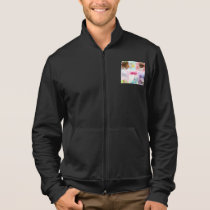 Crystal Geometric Shapes Mens Jacket