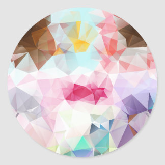 Crystal Geometric Shapes Stickers