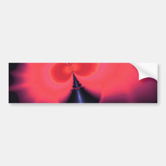Crystal Ghost – Salmon & Indigo Surprise  Embrace Car Bumper Sticker