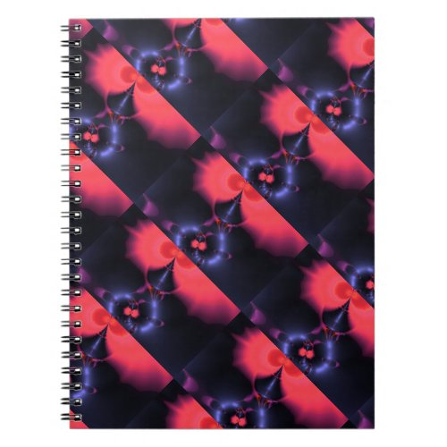 Crystal Ghost – Salmon &amp&#x3B; Indigo Surprise  Embrace Notebook