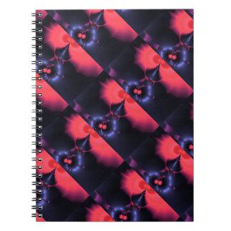 Crystal Ghost – Salmon & Indigo Surprise  Embrace Notebooks