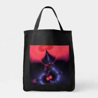 Crystal Ghost – Salmon & Indigo Surprise  Embrace Tote Bag