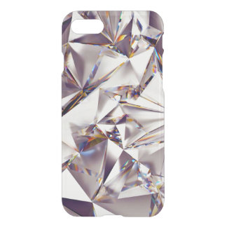 ee87aeb2ab Crystal Glass Silver Mosaic Mirror Pattern Design iPhone 8/7 Case