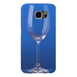 Crystal glass with luminous blue bottom samsung galaxy s6 case