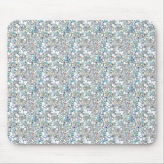 Crystal glitter mousepad