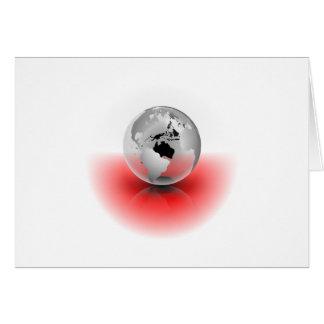 Crystal Globe Card