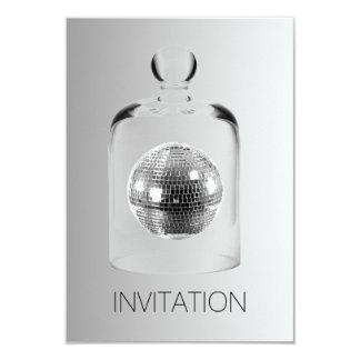 Crystal Globe Night Club Party Vip Invitation