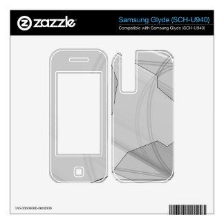 Crystal Gray Samsung Glyde SCH-U940 Skin Skins For Samsung Glyde