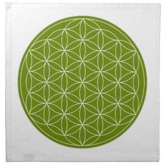 Crystal Grid Cloth - Flower Of Life