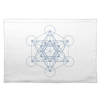 Crystal Grid Cloth - Metatron s Cube Place Mat