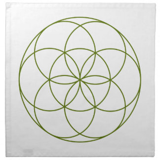 Crystal Grid Cloth - Seed Of Life