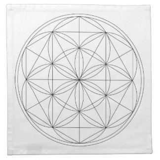 Crystal Grid Cloth Template