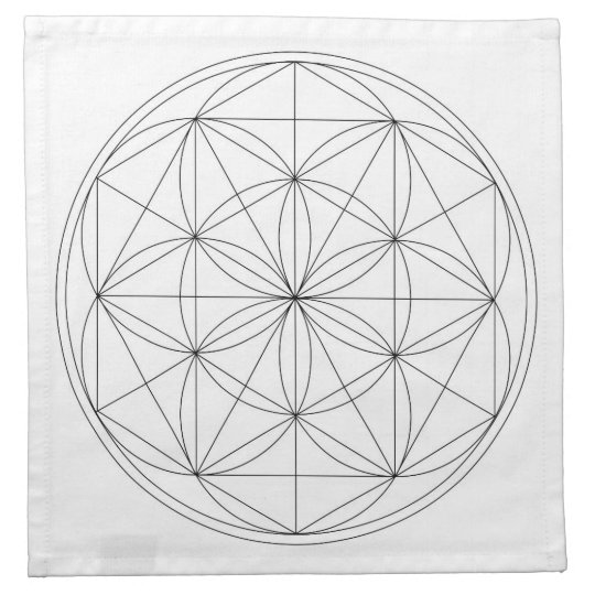 Crystal Grid Cloth Template | Zazzle.com