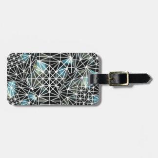Crystal Grid Travel Bag Tags