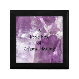 Crystal Healing Keepsake Box
