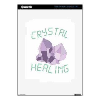 Crystal Healing Decals For iPad 3