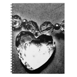 Crystal Heart Notebook