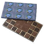 Crystal Heart Ornament 45 Piece Box Of Chocolates