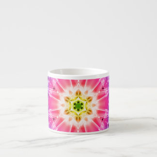 Crystal Hexagon Mandala Espresso Cup