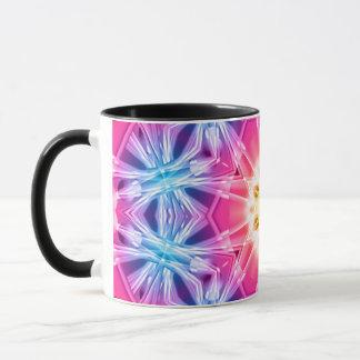 Crystal Hexagon Mandala Mug
