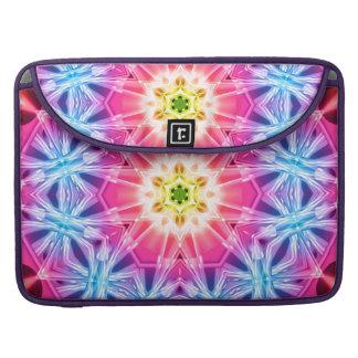 Crystal Hexagon Mandala Sleeve For MacBooks