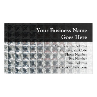 Crystal Ice Block Print Business Card Templates