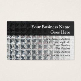 Crystal Ice Block Print Business Card