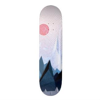 Crystal Ice Mountains Skateboard