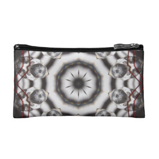 Crystal Kaleidoscope Print Cosmetic Bags