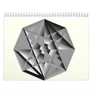 Crystal Key & Feathered Sun 2017 Calendar