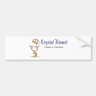 Crystal Kismet Official Logo Car Bumper Sticker