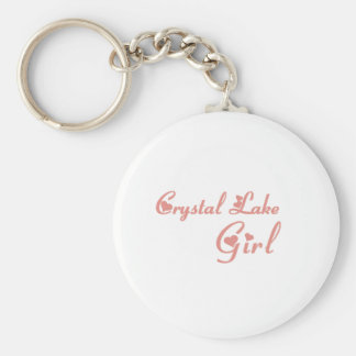 Crystal Lake Girl tee shirts Keychain