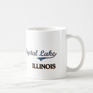 Crystal Lake Illinois City Classic Classic White Coffee Mug