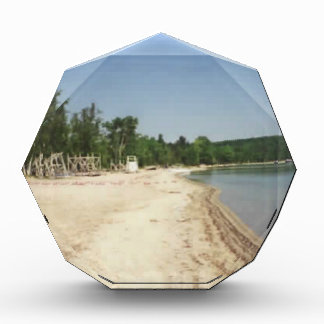 Crystal Lake, MI Acrylic Award