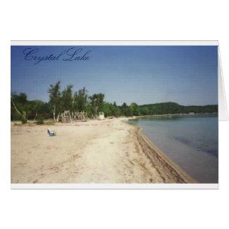 Crystal Lake, MI Card