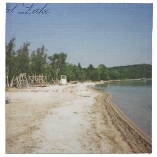 Crystal Lake, MI Cloth Napkin