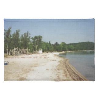 Crystal Lake, MI Cloth Placemat