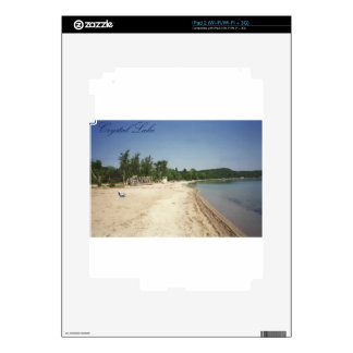 Crystal Lake, MI Decals For iPad 2