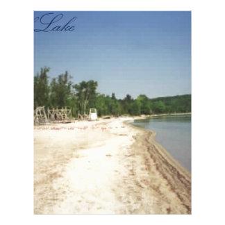Crystal Lake, MI Letterhead