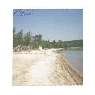 Crystal Lake, MI Notepad
