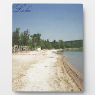 Crystal Lake, MI Plaque