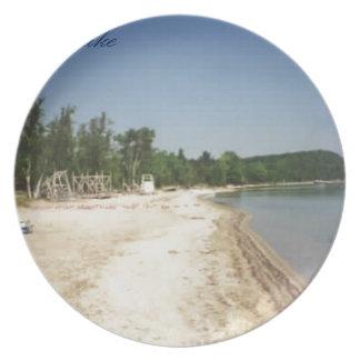 Crystal Lake, MI Plate