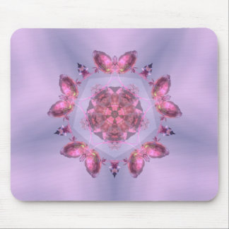 Crystal Lit Butterflies ~Mouse Pad~