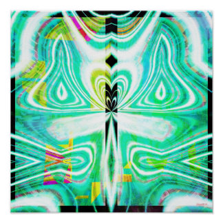 Crystal Mandala 1.4 Poster