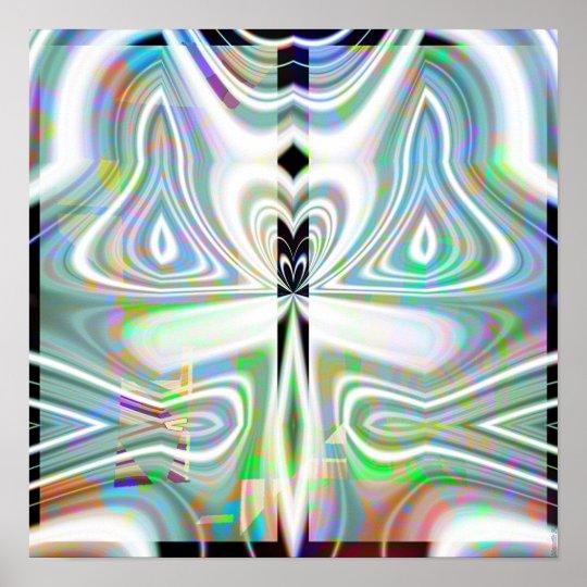 Crystal Mandala 1.5 Poster