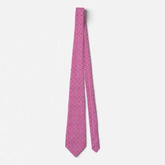 Crystal Mandala (rose quartz) Tie