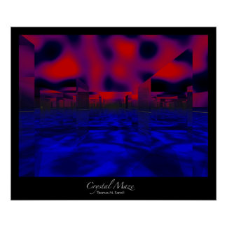 Crystal Maze (2) Print