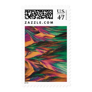 Crystal micro structure postage